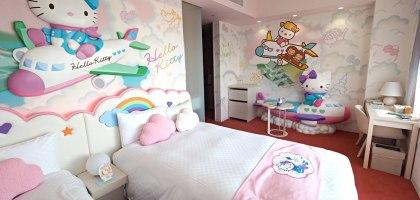 新特麗亞飯店 Centrair Hotel.限量Hello Kitty房看飛機入夢
