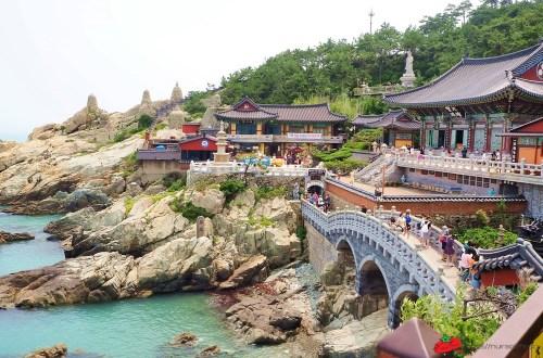 釜山|無敵海景的海東龍宮寺.韓國三大觀音聖地之一