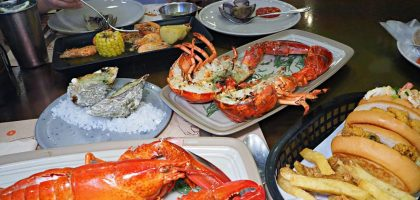 曼谷暹羅百麗宮 Crab and Claw .龍蝦螃蟹生蠔吃到飽,一次滿足你想痛風的願望!