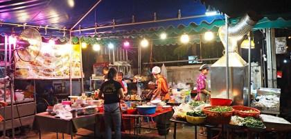 曼谷BTS Nana 那那站美食 紅燈區的海鮮大牌檔