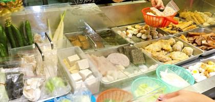 天母王朝滷味.便宜大份外帶送菜內用還會送飲料