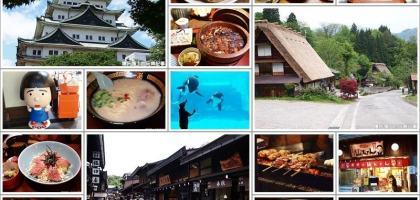 【日本中部北陸】昇龍道之旅  名古屋、合掌村、飛驒高山五天四夜自由行