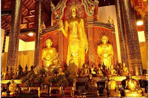 【清邁寺廟】清邁古城最高佛寺~聖隆骨寺(Wat Chedi Luang)