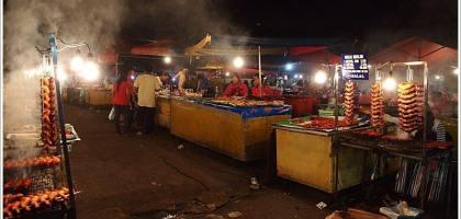【沙巴 亞庇】菲律賓燒烤市場