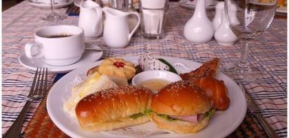 【暹粒】吳哥河景飯店下午茶