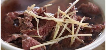 【台南】來台南就是要喝牛肉湯啊!!圓環牛肉湯