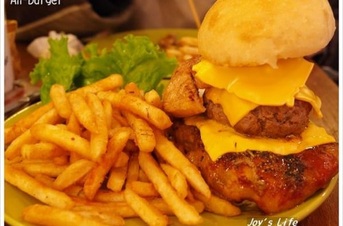 【台北 中山】An burger
