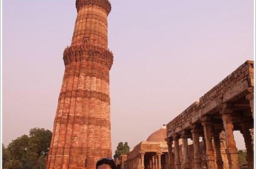 【印度】Qutab Minar 古德卜明納塔<世界文化遺產>