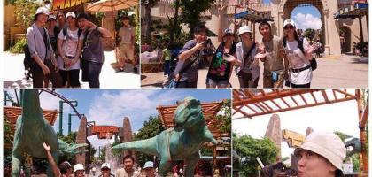 【新加坡】環球影城-中│從卡通世界到侏儸紀時代