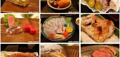 【台北中山日本料理】新鮮美味的無菜單壽司套餐 三井極壽司