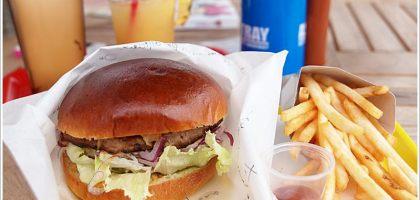 【石垣島】きたうち牧場Hamburg Burger Shop 食尚玩家莎莎推薦的漢堡店