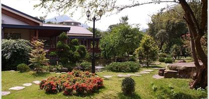 【南投】綠莊飛閣,日式庭園渡假民宿。