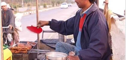 【印度】路邊攤羊肉串初體驗