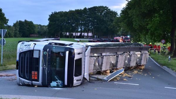 GefahrgutTransport In Lindern 130000 Euro Schaden nach