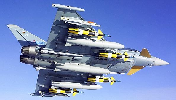 Verteidigung Deutsche Eurofighter im Baltikum