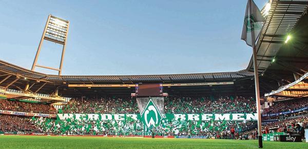Werder Bremen EWE vor Rckzug aus dem Weserstadion
