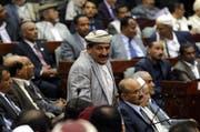Seit fast zwei Jahren hat in Sanaa erstmals wieder das Parlament  getagt. (Bild: YahyaArhab)