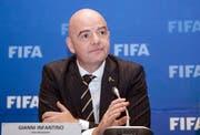 Fifa boss Gianni Infantino (Image: Jean Bizimana / Reuters)