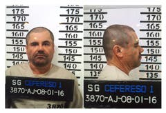 "Joaquín ""El Chapo"" Guzman, after being introduced to the federal security center of Readaptación Social 1 (Cefereso 1), Mexico City, January 2016. (Picture: PD / EPA)"