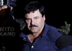 After the arrest of Guzman in January 2016, he will be presented to the General Prosecutor in Mexico. (Picture: Henry Romero / Reuters)