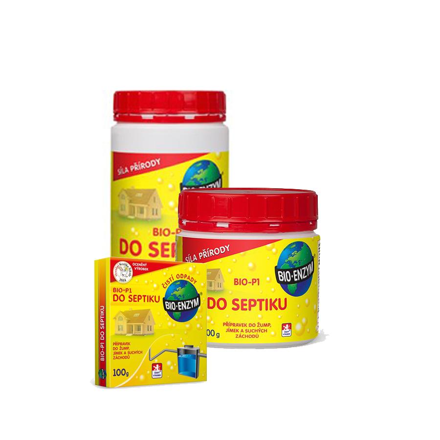 Bio P1 Do Septiku 100g Bakterie Do Septiku Obchod Santim