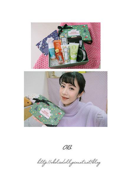 美妝保養::Butybox美妝體驗盒 – 12月份聖誕主題開箱
