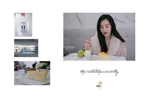 台北美食✿Lady M Taiwan 台北旗艦店 / 來自紐約的千層蛋糕