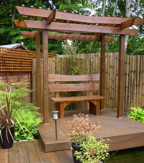 un jardin japonais super zen