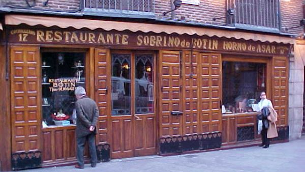 Botin Restaurant, restoran tertua di dunia (Foto: lottoworlddirectory)