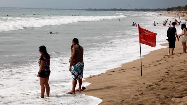 Pantai Kuta, Bali, nan elok (Foto: Rohmat/Okezone)