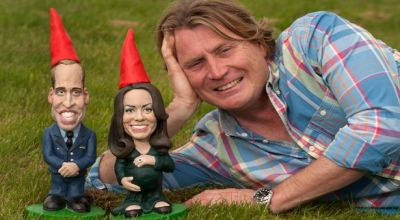Gnome Will dan Kate (Foto: Mirror)