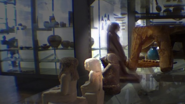 Patung Mesir yang berputar sendiri di Museum Manchester (Foto: naij)
