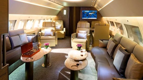 The Emirates Executive Plane (Foto: News)