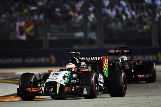 Asa Force India di GP Jepang