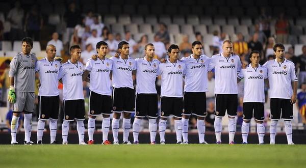 Para skuad Valencia yang akan bertandang ke Indonesia. (Foto: Getty Images)