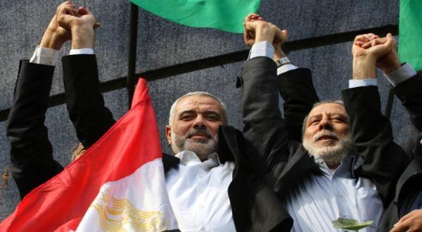 Foto : PM Hamas Ismail Haniyeh (Guardian)