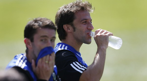 Alessandro Del Piero di sesi latihan Sydney FC (Foto: Reuters)