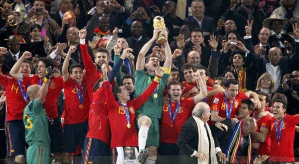 Spanyol saat memenangkan Piala Dunia 2010 (Foto: Reuters)