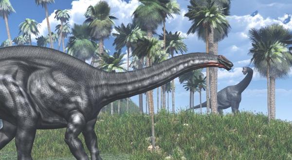 Dinosaurus Berleher Panjang Ini Hanya Karangan Fiksi