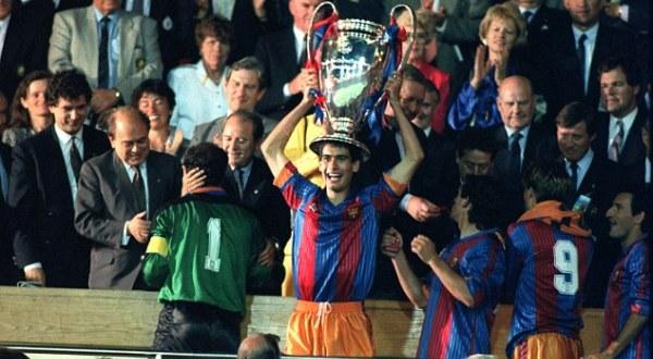 Barca raih trofi Champions pertamanya di Wembley, 1992 silam (Foto: ist)