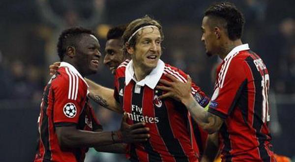 Boateng (Kanan) dan Ambrosini (Tengah) siap jadi andalan Milan. (Foto: Ist)
