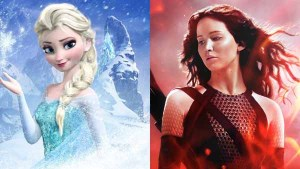 The Hunger Games: Catching Fire Nyaris Disalip Frozen