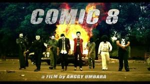 Hari Pertama, Film Comic 8 Ditonton 65 Ribu Orang