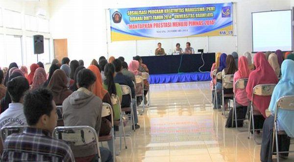 Universitas Brawijaya meluluskan 331 proposal PKM untuk didanai Ditjen Dikti Kemendikbud. (Foto: UB)