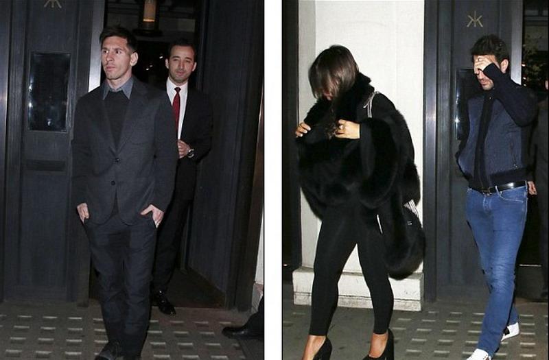 Messi Kepergok Sambangi Tempat Judi di London