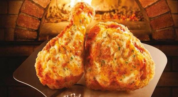 Ayam Goreng Renyah Ini Rasa Piza