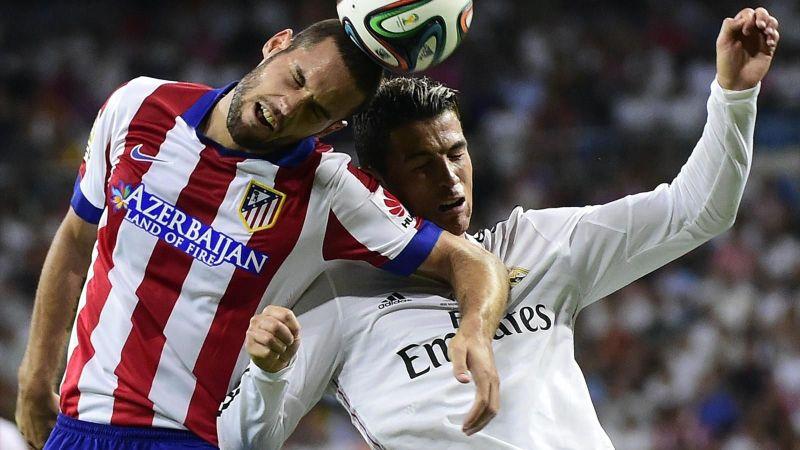 Mario Suarez (kiri) berjibaku dengan CR7 (Foto: Eurosport)