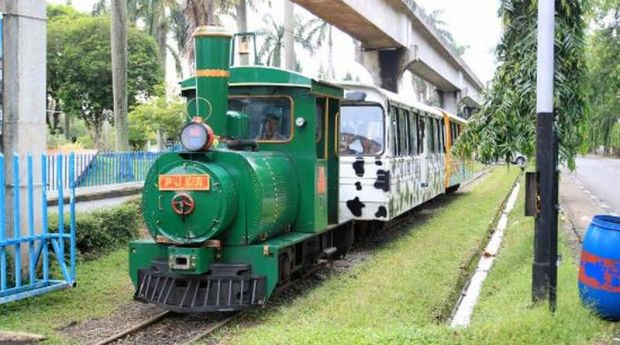 Kereta Kelinci Paling Favorit di TMII