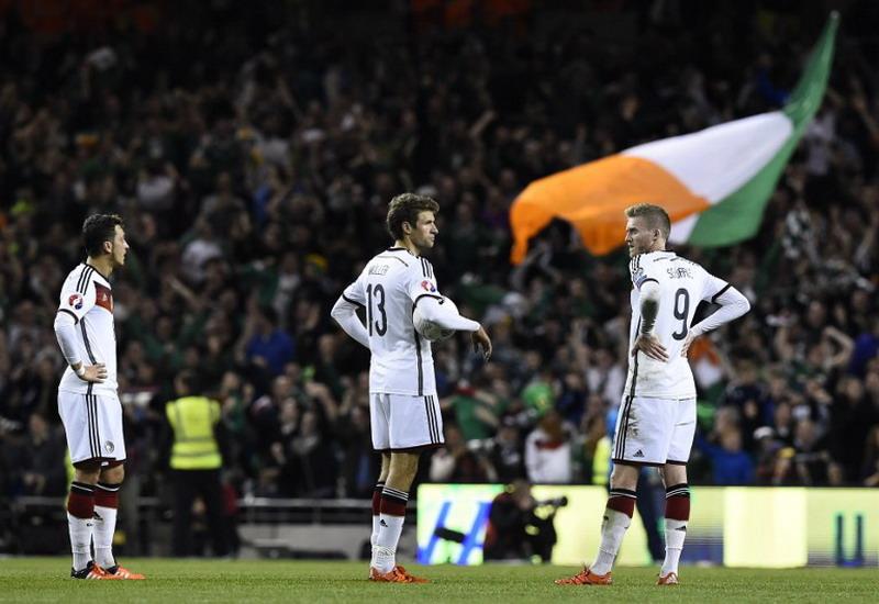 Juara Dunia, Jerman kalah 0-1 dari Republik Irlandia di Dublin (Foto: Tobias Schwarz/AFP)