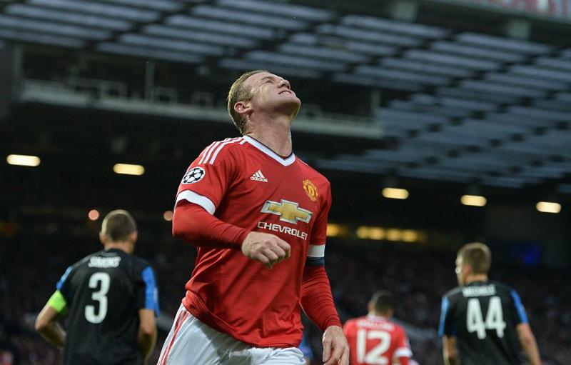 Rooney minim gol. (Foto: AFP/Oli Scarff)